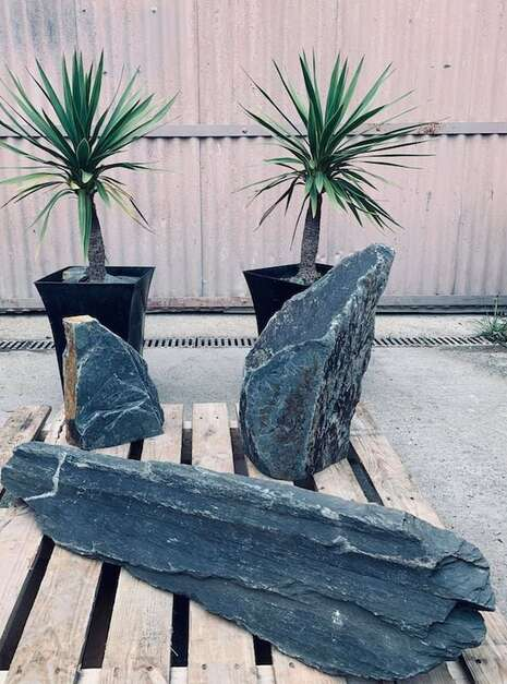Triad of Stones TS02 | Welsh Slate Water Features 2