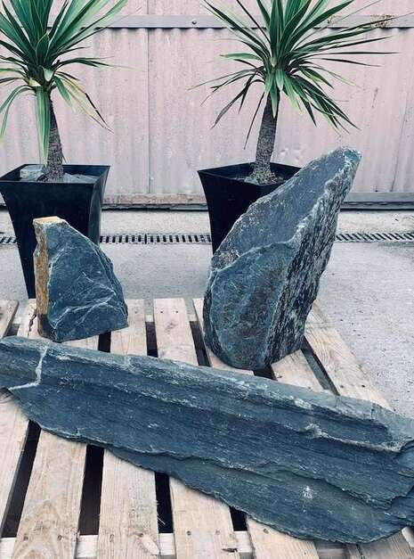 Triad of Stones TS02 | Welsh Slate Water Features 4