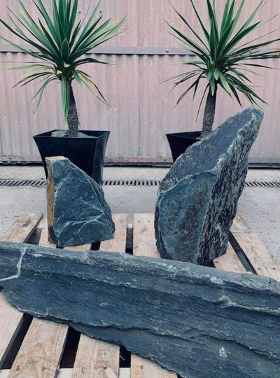 Triad of Stones TS02 | Welsh Slate Water Features