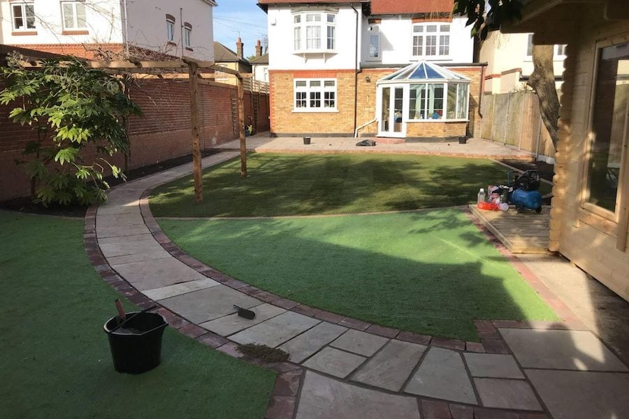 A.B. Fencing & Landscaping | Welsh Slate Water Features 03