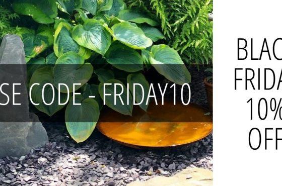Black Friday Garden Deals