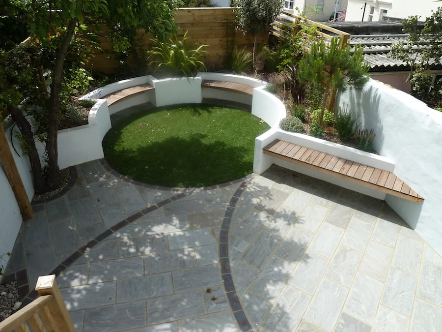 Grove Gardens - Approved Installer   Welsh Slate Water Features 04