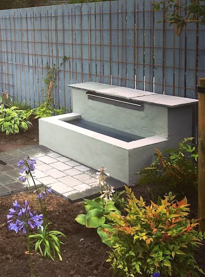 1200mm Water Blade Example | Welsh Slate Water Features
