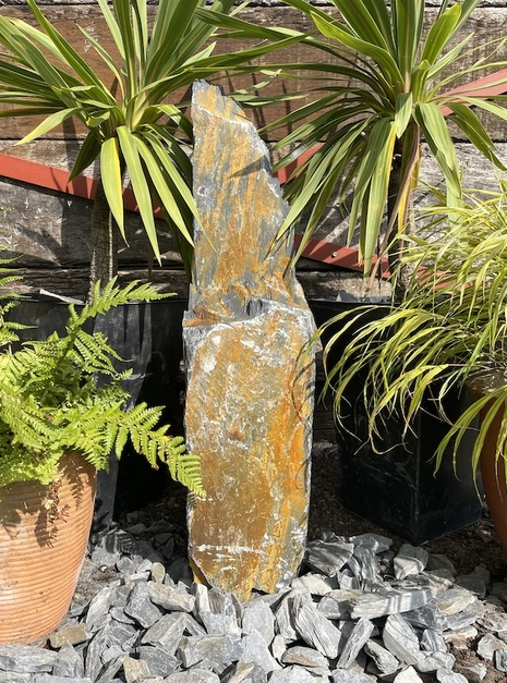 Slate Monolith SM103 Standing Stone | Welsh Slate Water Features 11