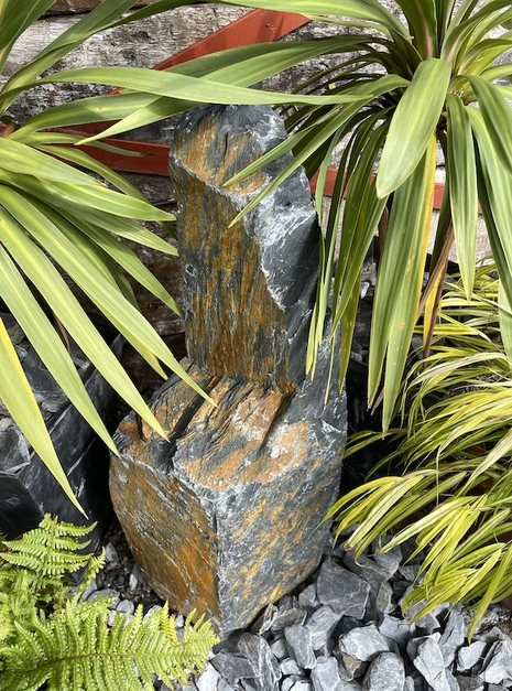 Slate Monolith SM103 Standing Stone | Welsh Slate Water Features 14
