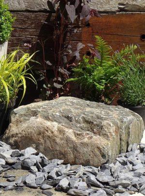 Granite Boulder GB8 Decorative Stone