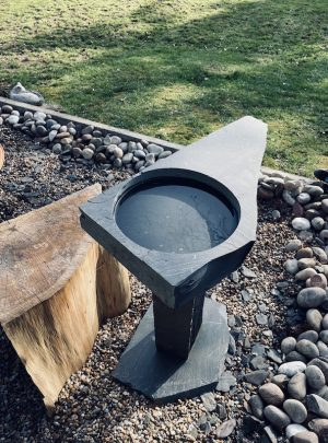 Slate Bird Bath SBB3