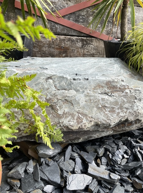 Slate Boulder SB1 Water Feature   Welsh Slate Water Features 10