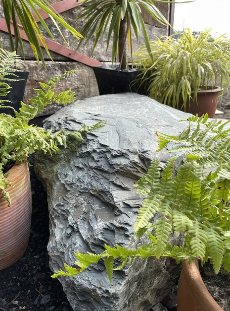 Slate Boulder SB1 Water Feature   Welsh Slate Water Features 12