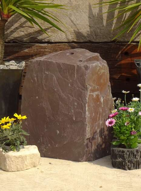 Slate Monolith SM121 01 | Welsh Slate Water Features