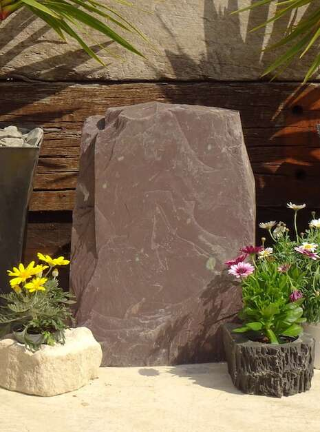 Slate Monolith SM121 02 | Welsh Slate Water Features