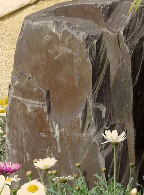 Slate Monolith SM121 06 | Welsh Slate Water Features