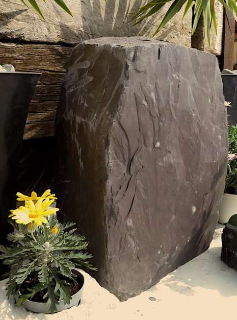 Slate Monolith SM121 08 | Welsh Slate Water Features