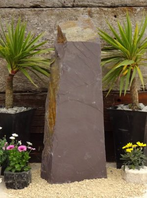 Japanese Monolith JM11 | Welsh Slate Water Features