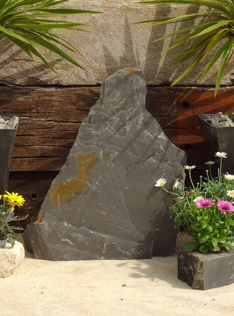 Japanese Monolith JM9 01 | Welsh Slate Water Features
