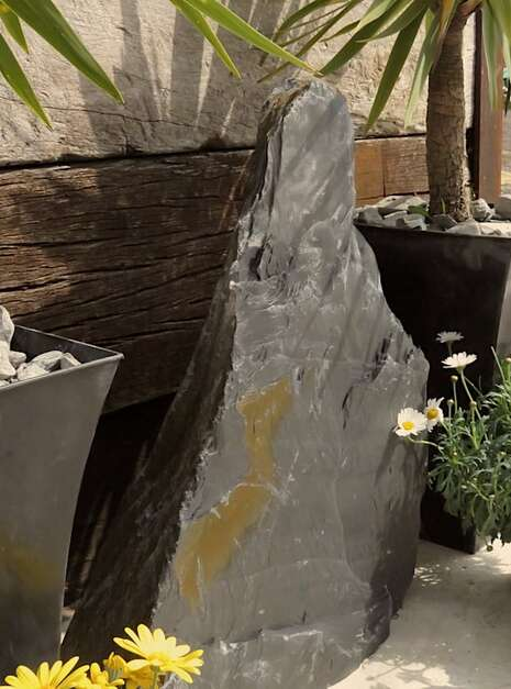 Japanese Monolith JM9 05 | Welsh Slate Water Features