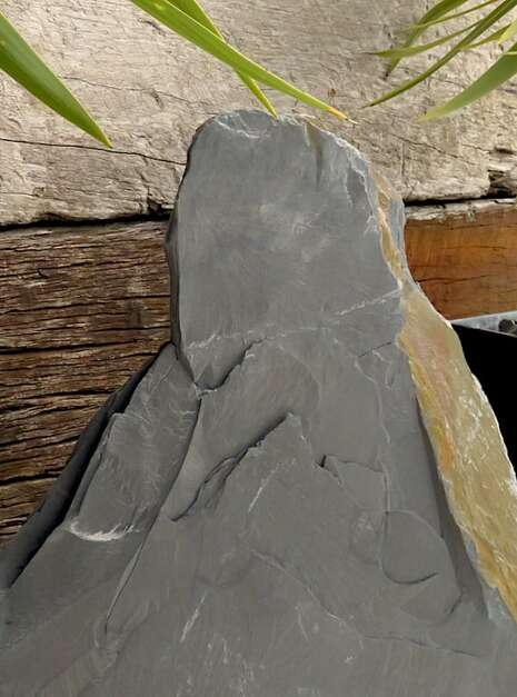 Japanese Monolith JM9 06 | Welsh Slate Water Features