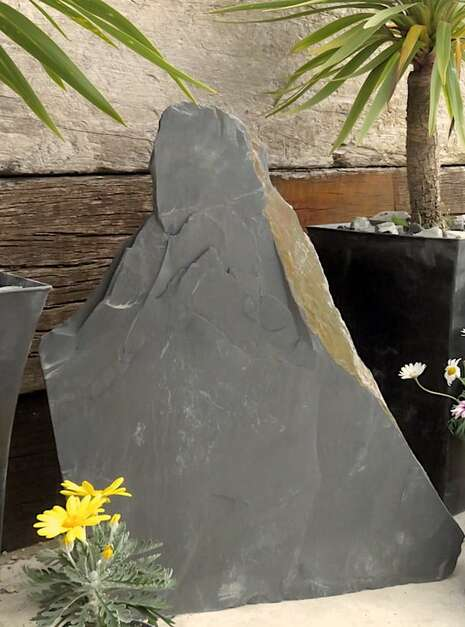 Japanese Monolith JM9 07 | Welsh Slate Water Features