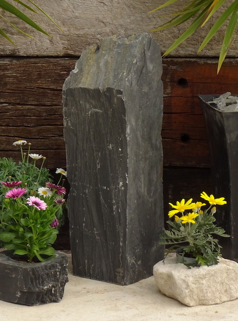 Slate Monolith SM129 01 | Welsh Slate Water Features