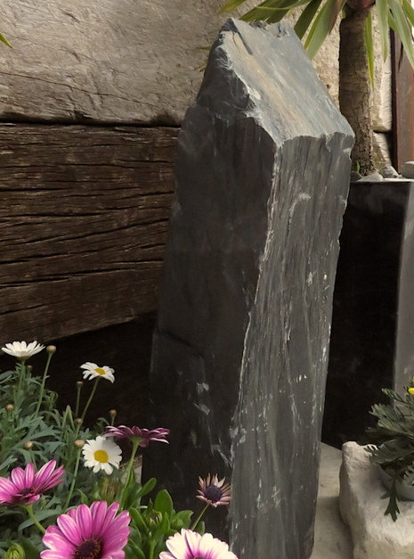 Slate Monolith SM129 03 | Welsh Slate Water Features