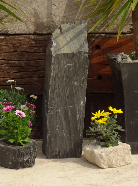 Slate Monolith SM129 04 | Welsh Slate Water Features