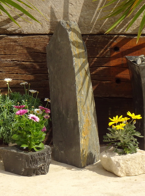Slate Monolith SM129 05 | Welsh Slate Water Features