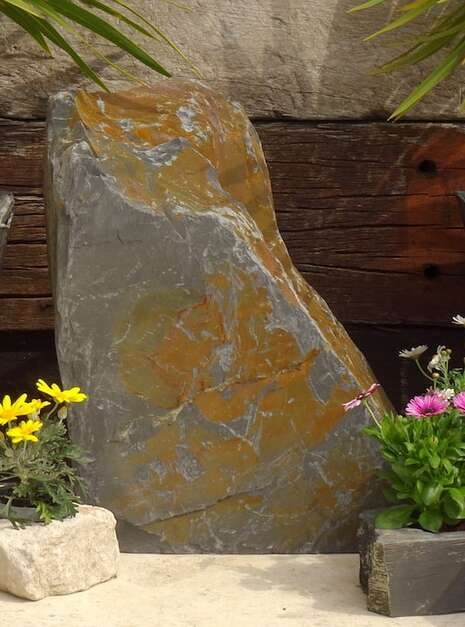 Slate Monolith SM130 02 | Welsh Slate Water Features