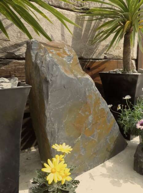 Slate Monolith SM130 04 | Welsh Slate Water Features
