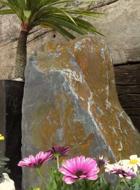 Slate Monolith SM130 06 | Welsh Slate Water Features