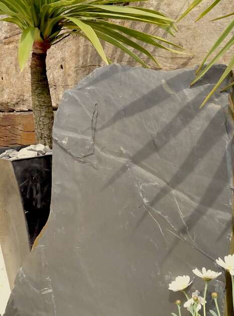 Slate Monolith SM130 07 | Welsh Slate Water Features