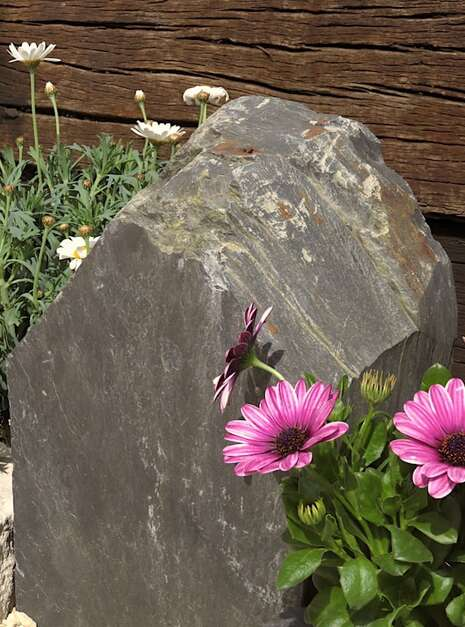 Slate Monolith SM133 06   Welsh Slate Water Features