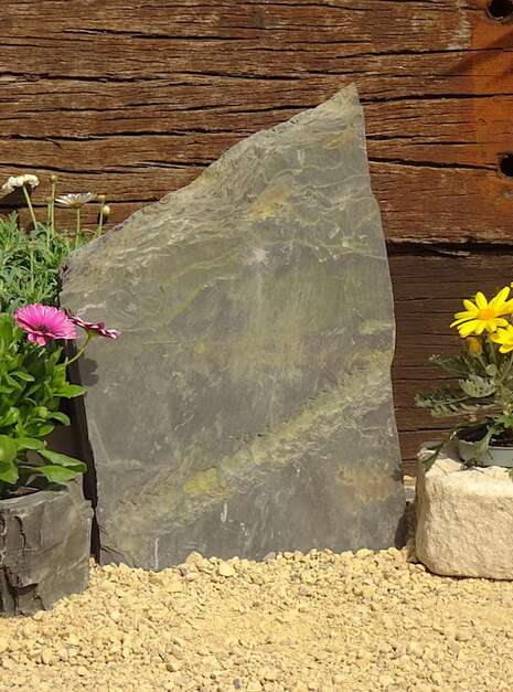 Slate Monolith SM134 02 | Welsh Slate Water Features