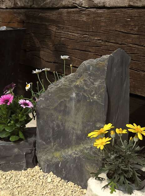 Slate Monolith SM134 04 | Welsh Slate Water Features