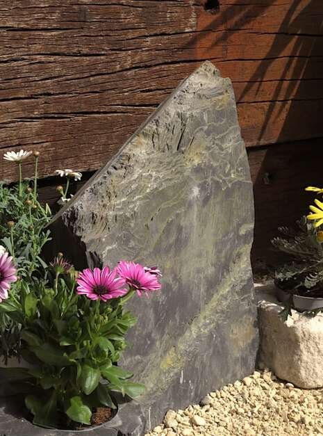 Slate Monolith SM134 06 | Welsh Slate Water Features