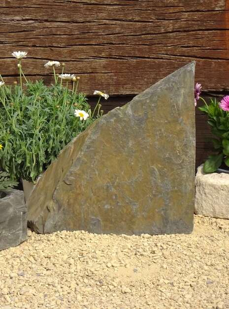 Slate Monolith SM135 02   Welsh Slate Water Features