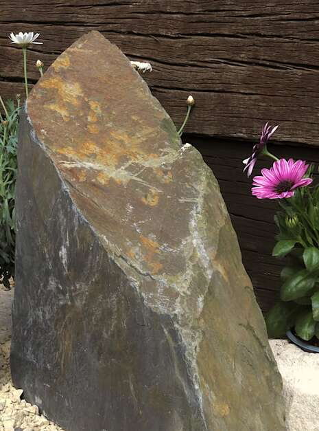 Slate Monolith SM135 04   Welsh Slate Water Features