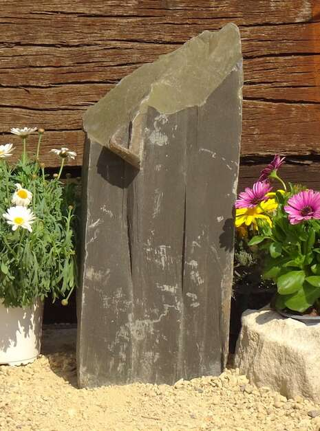 Slate Monolith SM137 05   Welsh Slate Water Features