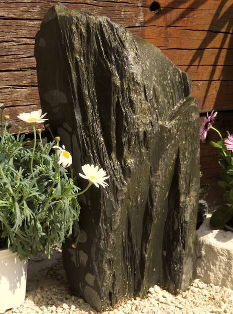 Slate Monolith SM137 06   Welsh Slate Water Features