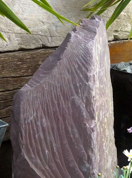 Slate Monolith SM139 | Welsh Slate Water Features 09