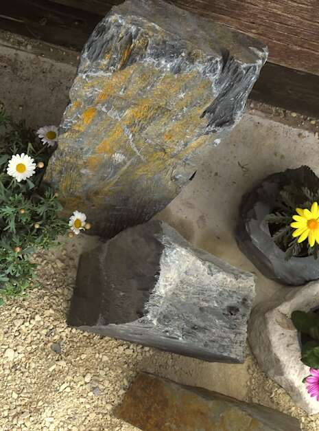 Triad of Stones TS04 04 | Welsh Slate Water Features