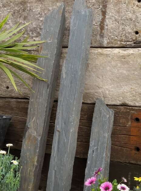 Triad of Stones TS05 02 | Welsh Slate Water Features