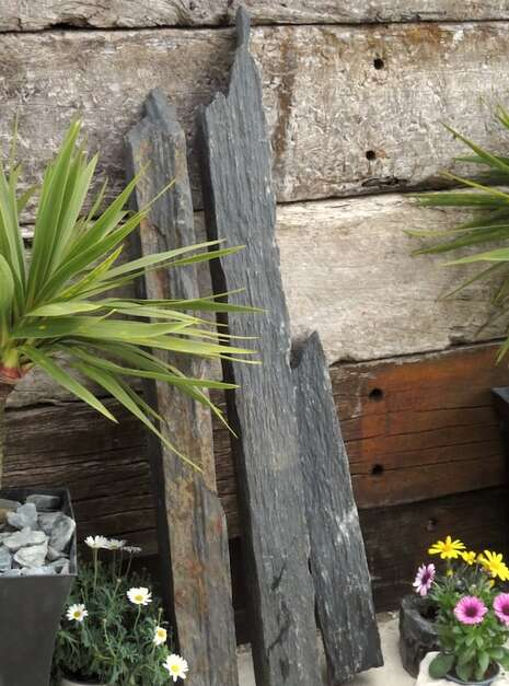 Triad of Stones TS05 04 | Welsh Slate Water Features