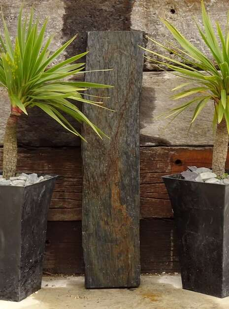 Waterfall Ledge WL009 | Welsh Slate Water Features 01