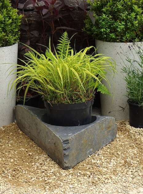 Large Slate Planter WSP01 | Welsh Slate Water Features 01