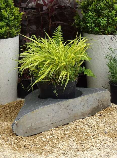 Large Slate Planter WSP01 | Welsh Slate Water Features 02