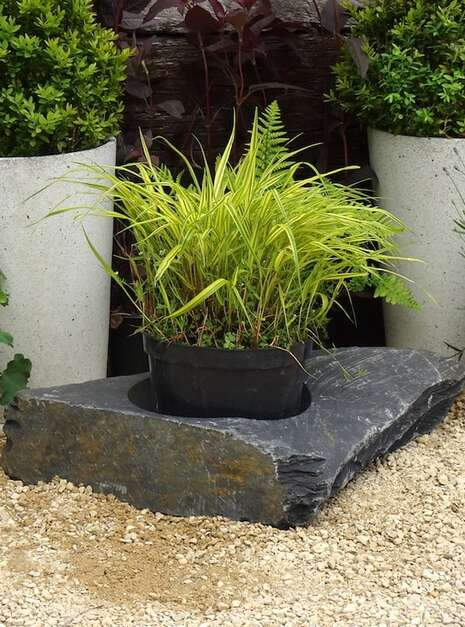 Large Slate Planter WSP01 | Welsh Slate Water Features 06
