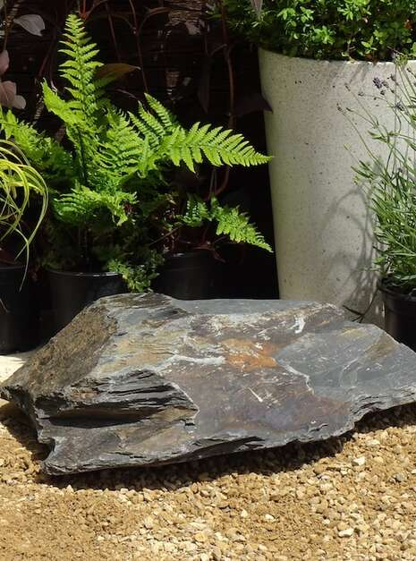 Slate Boulder SB16 Water Feature | Welsh Slate Water Features 03