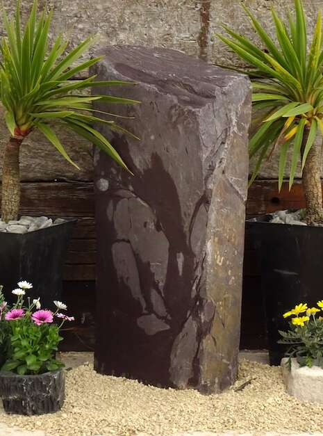 Slate Monolith SM148 | Welsh Slate Water Features 02