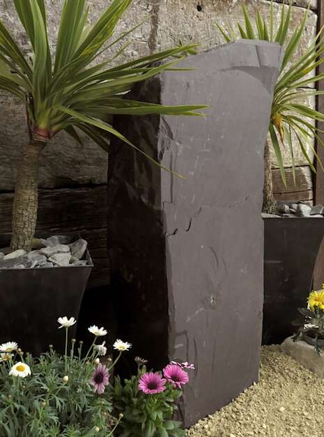 Slate Monolith SM148 | Welsh Slate Water Features 04