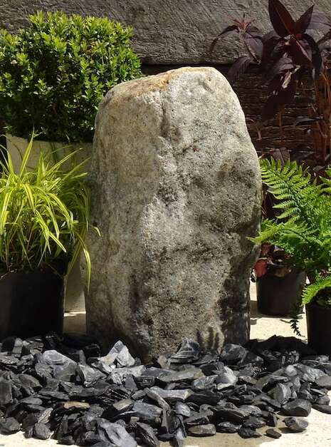 Stone Monolith SM150 Water Feature | Welsh Slate Water Features 03